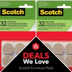 Deals We Love: Felt Furniture Pads to Protect Floors