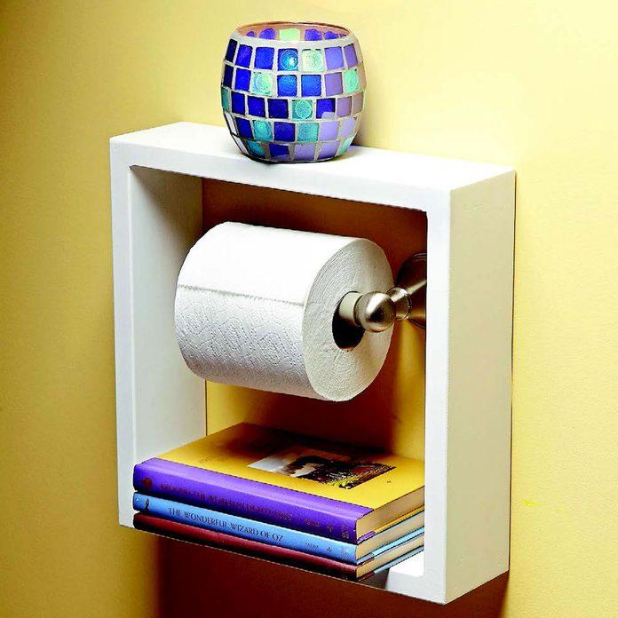 toilet paper shelf