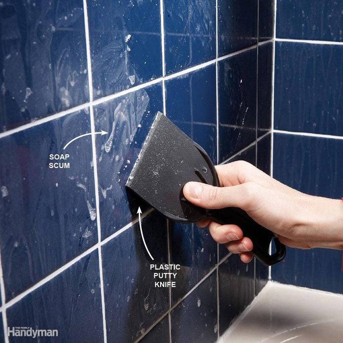 Remove Bathroom Soap Scum
