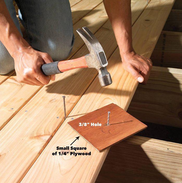Avoid Ugly Hammer Marks