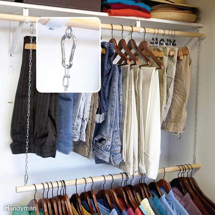 Add-On Clothes Rod