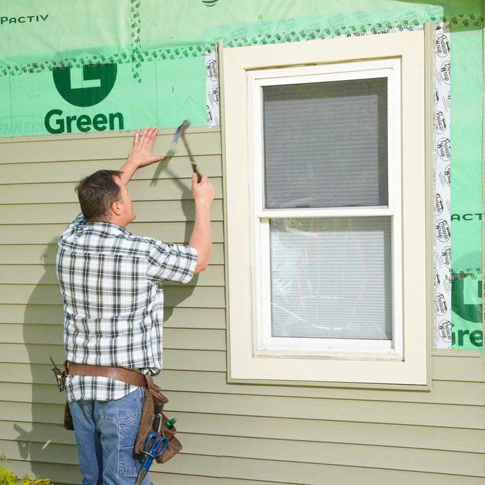 vinyl siding tips install longer panels
