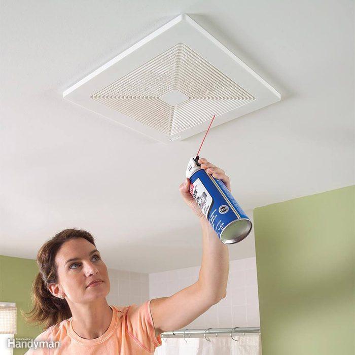 Clean the Exhaust Fan