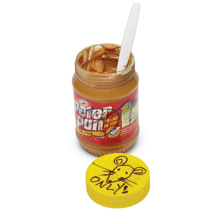 Peanut Butter is the Best Mouse Trap Bait