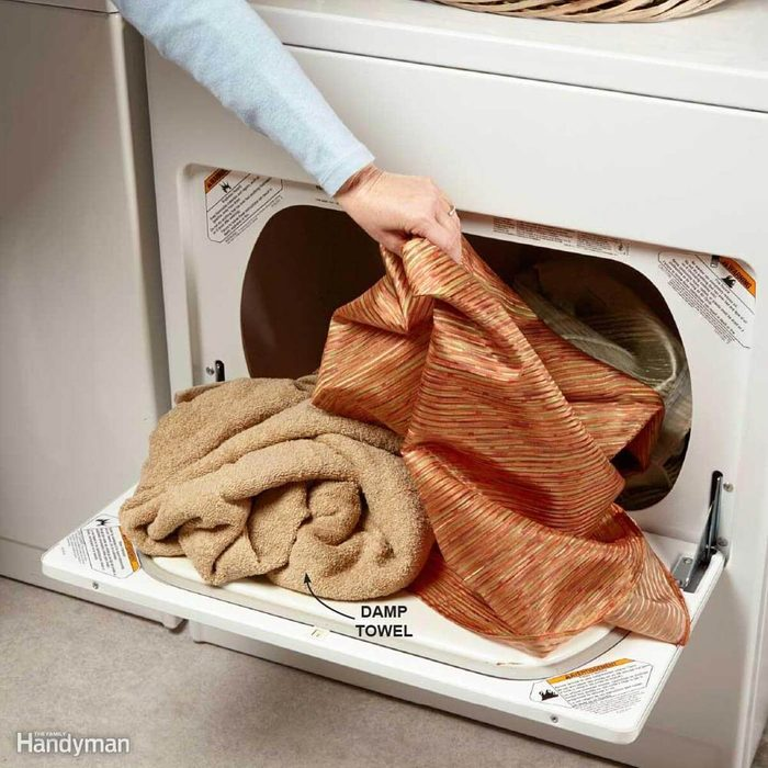 Dust with Your Dryer