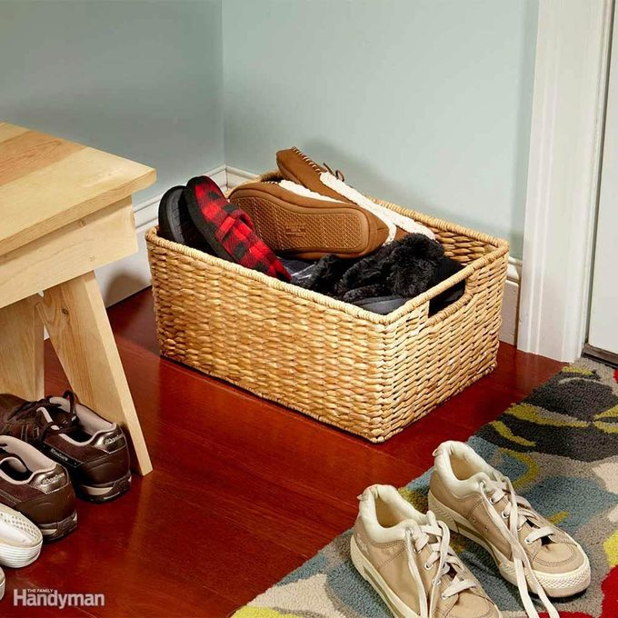 Ban Shoes Inside (But Offer Slippers)