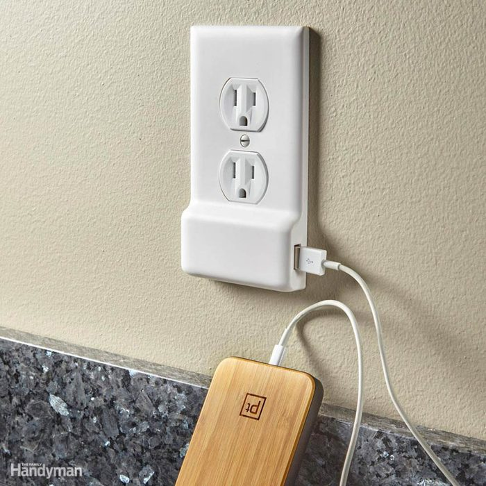 Gift Ideas for New Homeowners: Snap-On USB Outlets