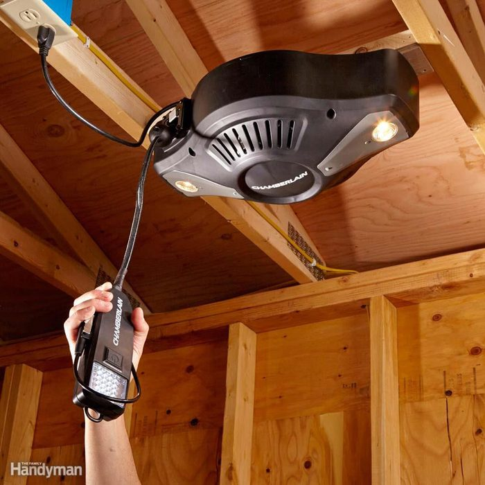 Pull Power, Light and Compressed Air From Your Ceiling