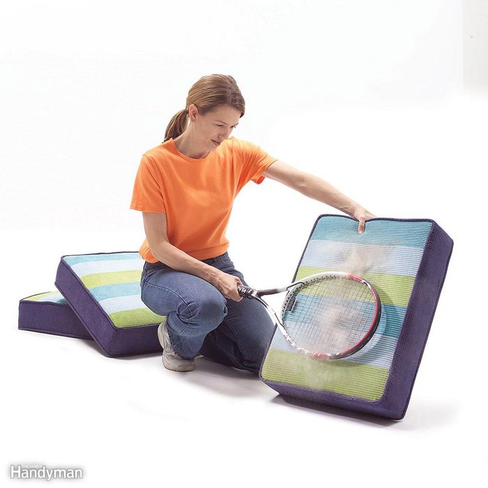 Beat the Dust out of Cushions