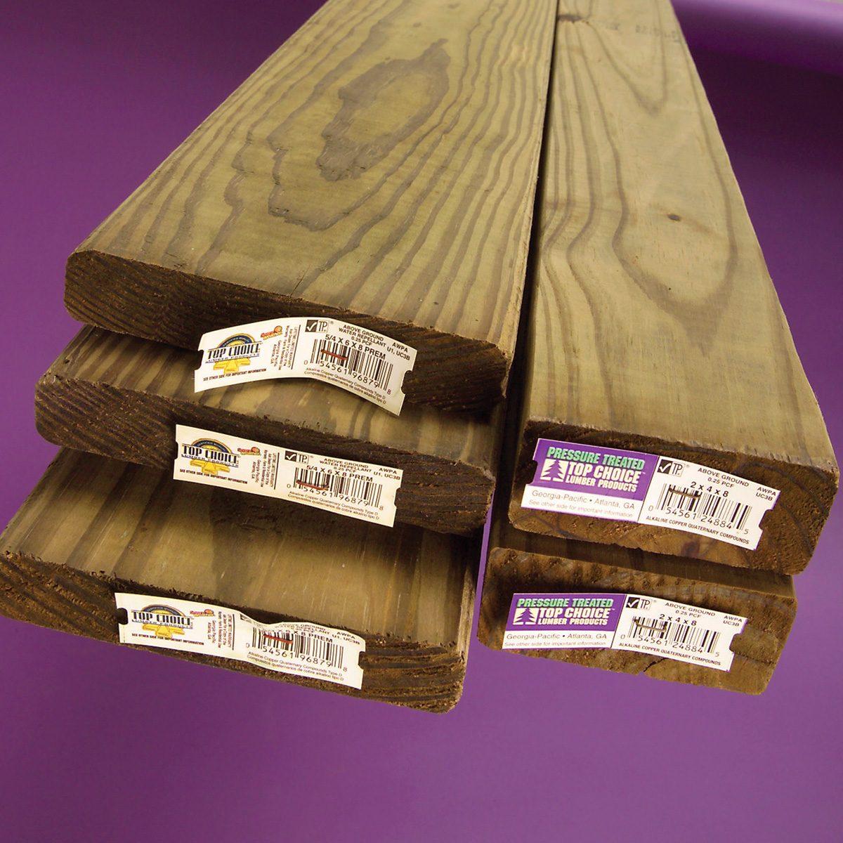 treated lumber