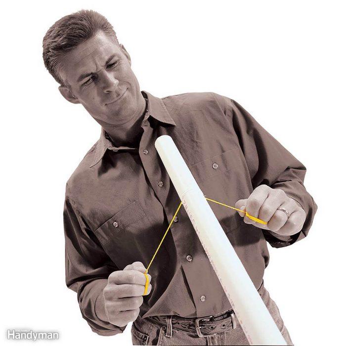 String Pipe Cutter