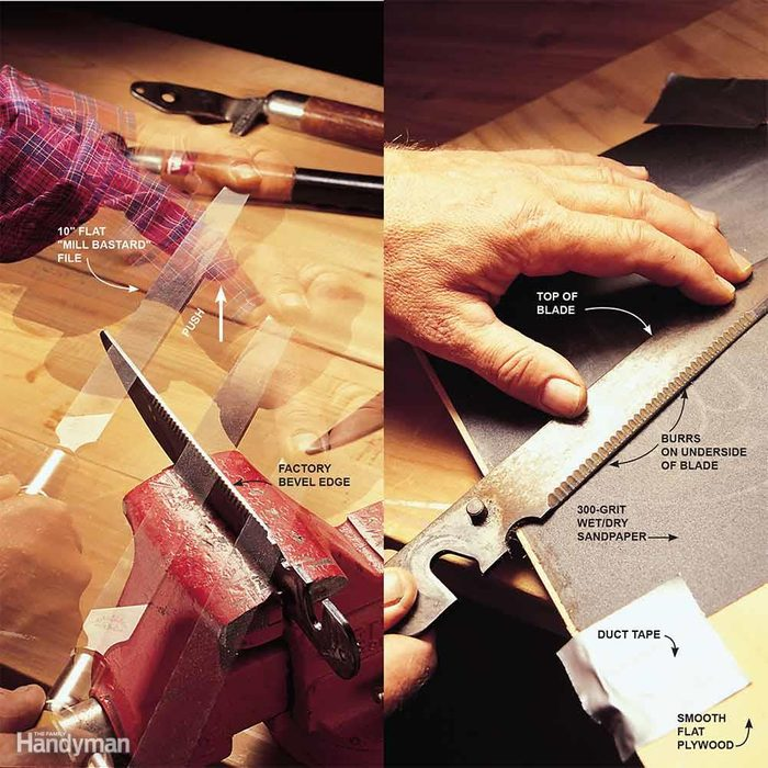 How to Sharpen Hedge Shears