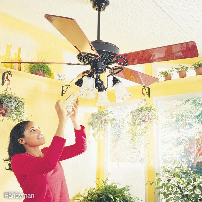 Reverse Your Ceiling Fan