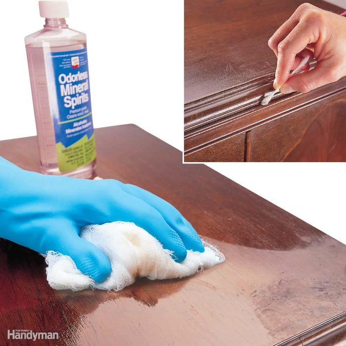 Clean Dirty, Greasy, Gummy Surfaces