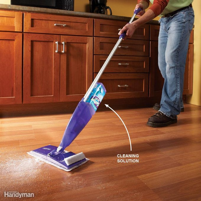 Clean Hard Floors Faster