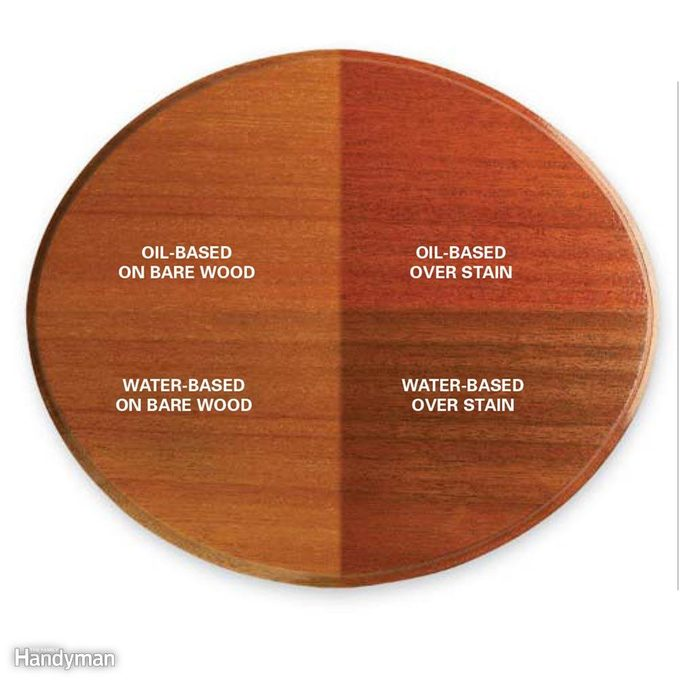 Wood Finishing Techniques: Test Clear Finishes, Too