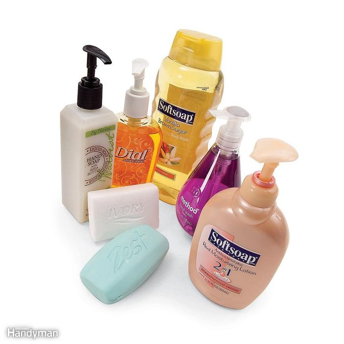 Minimize Scum with Synthetic Soap