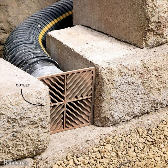 Add Drainage Outlets at 16-ft. Intervals