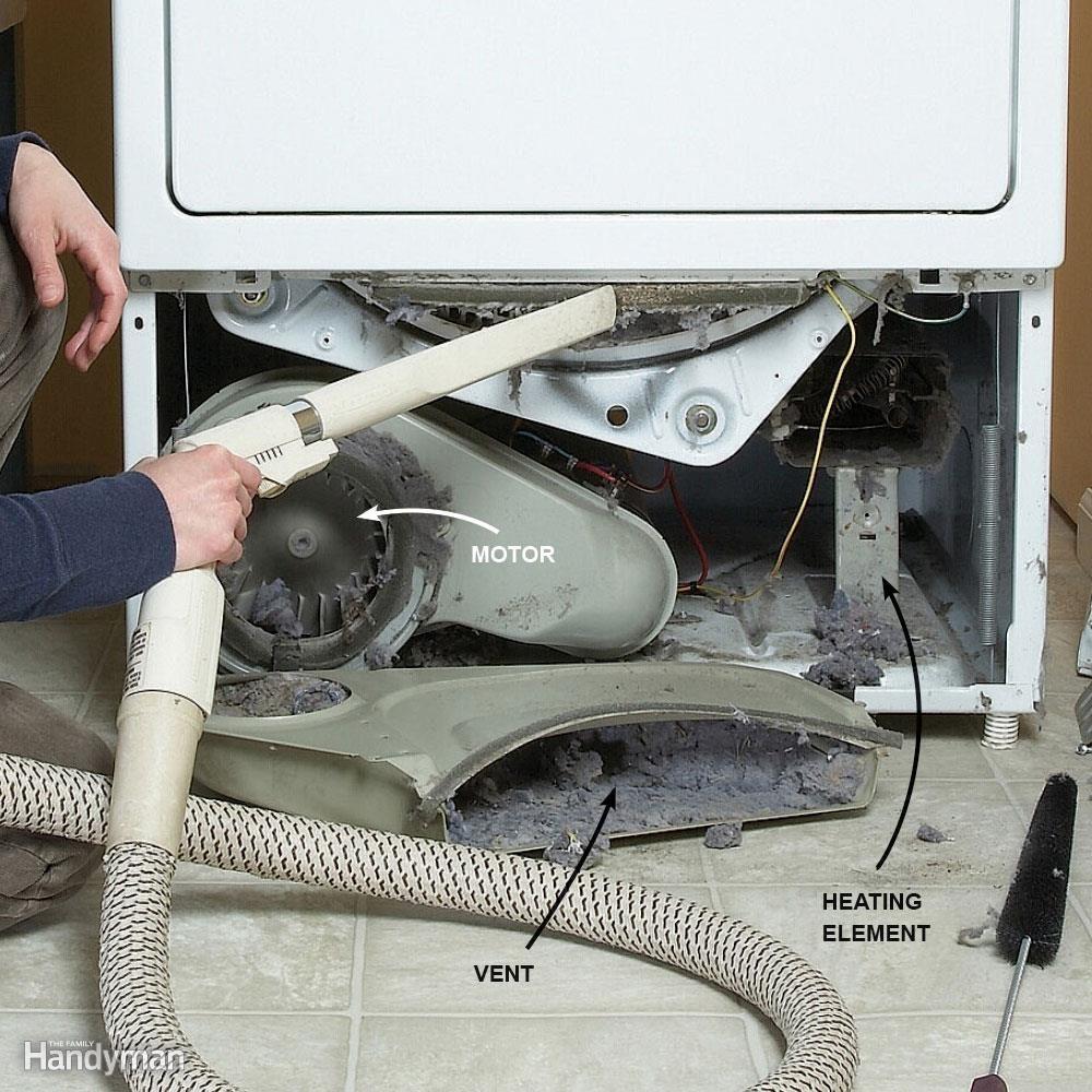 FH08JAU_DRYLIN_06 clean dryer