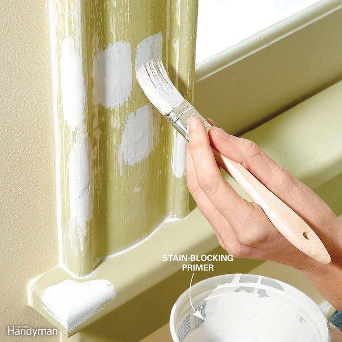 paint wood trim