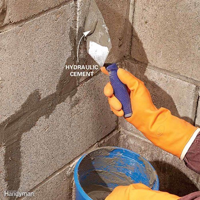 foundation leak repair
