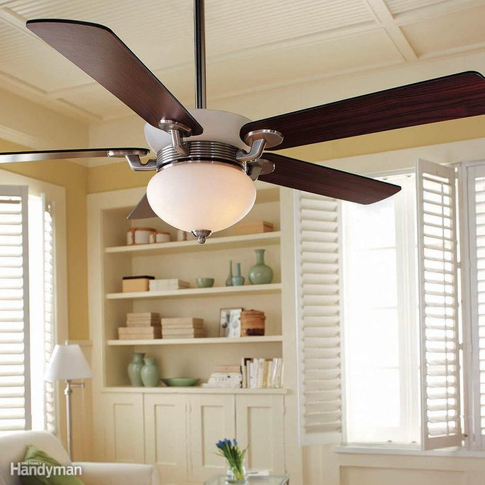 Use Fans and Raise Your Thermostat