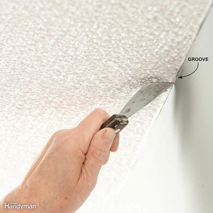 Groove Textured Ceilings
