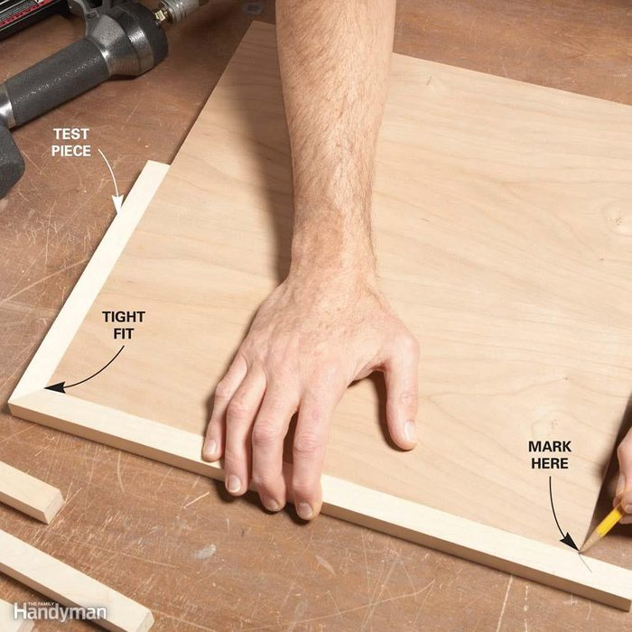 Miters: Fit One Miter at a Time