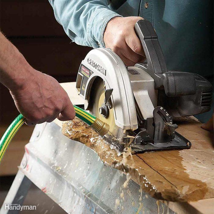 Cutting Through Stone and Masonry
