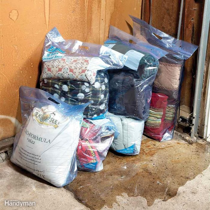 Patio Cushions and Camping Gear Storage