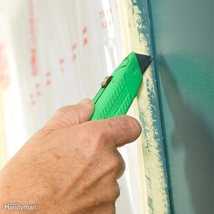 Cut the Paint Before Pulling the Tape Off