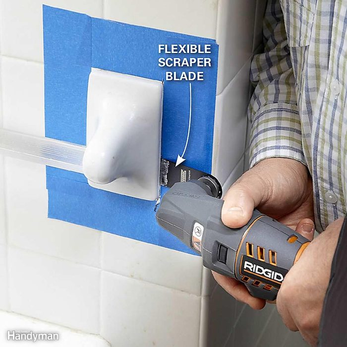 Remove a Towel Bar or Soap Dish