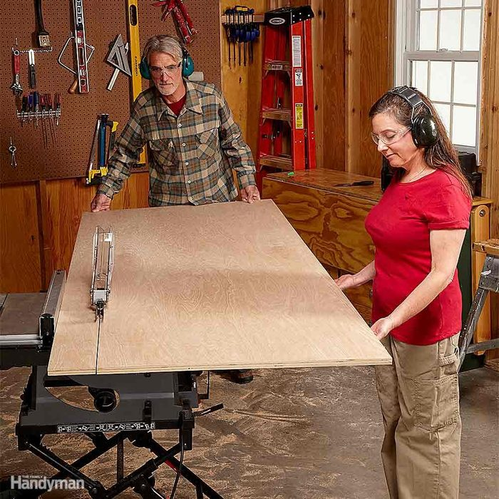 To Rip Large Sheets, You Need Well-Trained Help