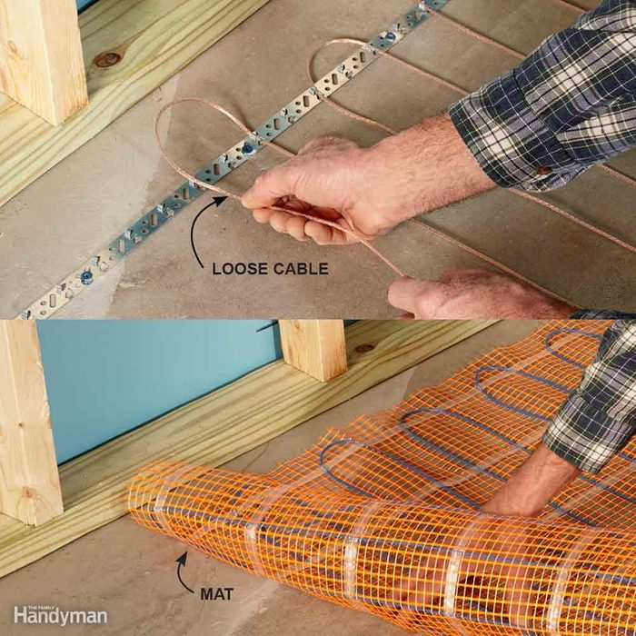 Warm Up Cold Floors With Heating Cables