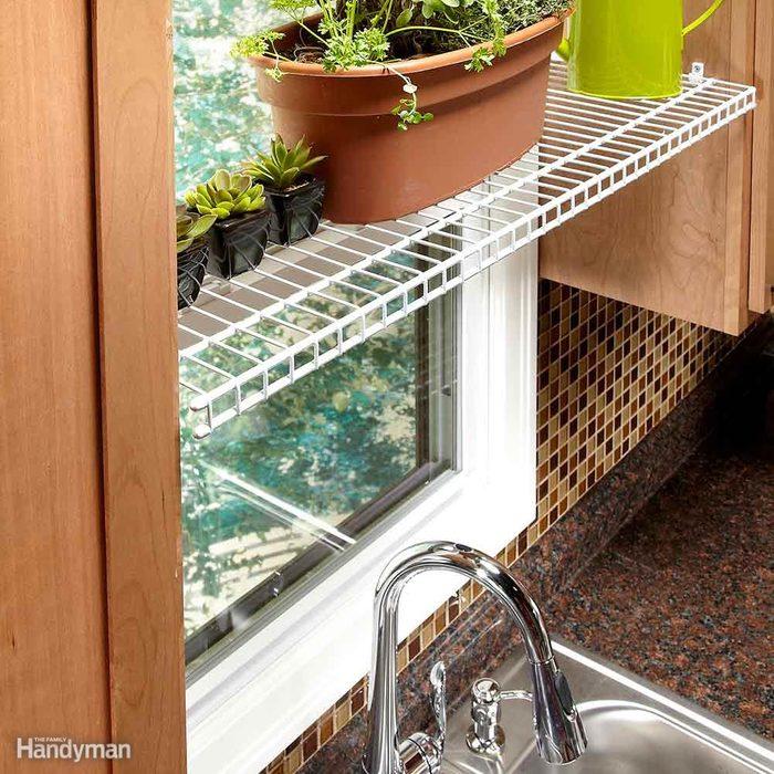 Kitchen Window Plant Perch