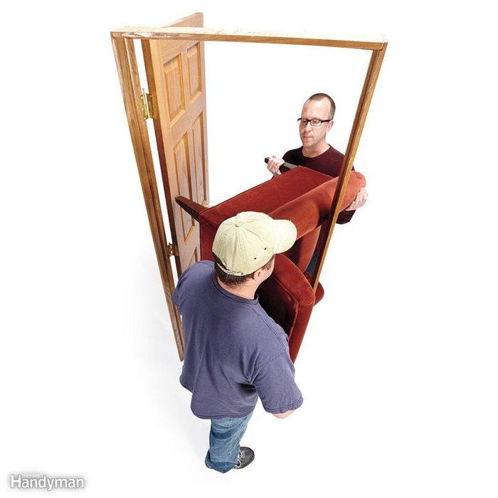 'Hook' Chairs Around Corners