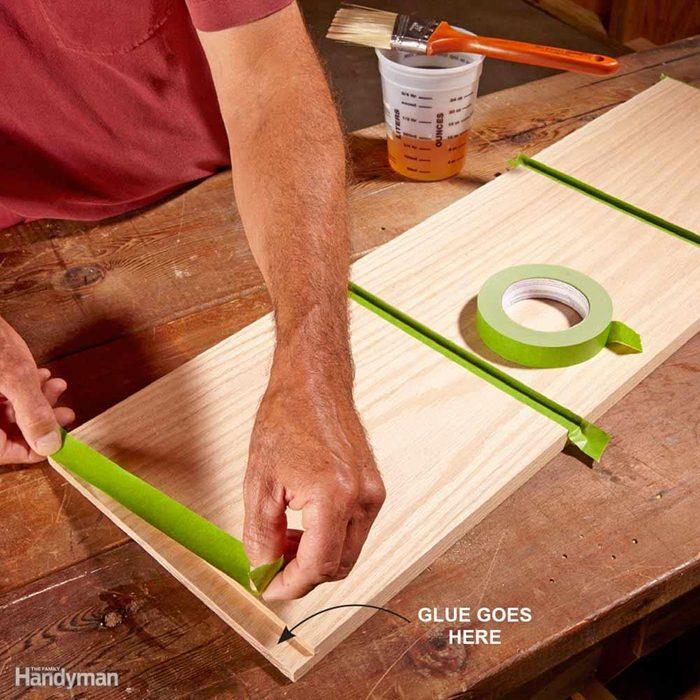 Mask Glue Joints Before Prefinishing