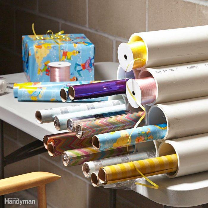 Gift Wrap Rack
