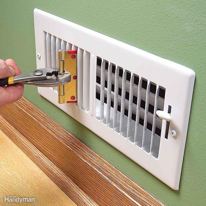 whistling duct grate fix