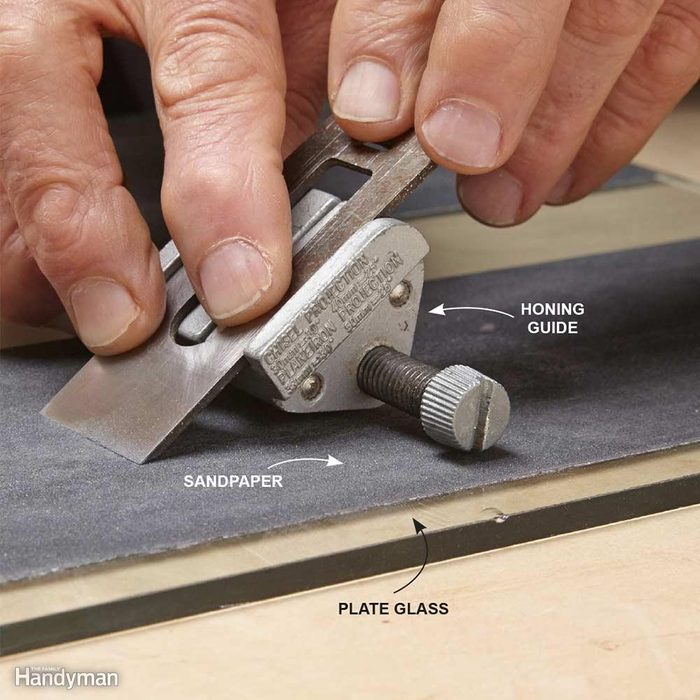 Foolproof Chisel and Plane Sharpening