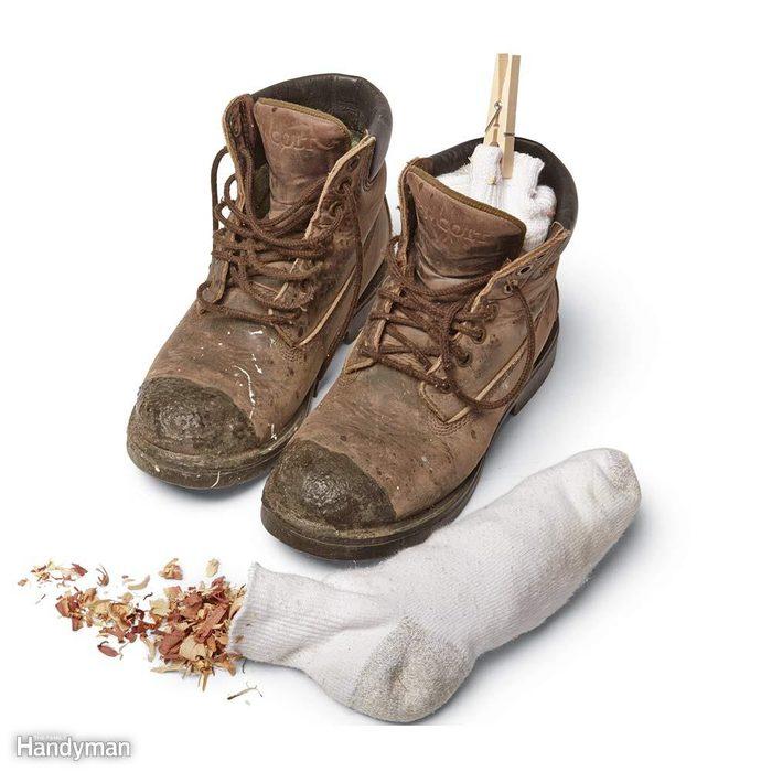 Freshen Up Work Boots