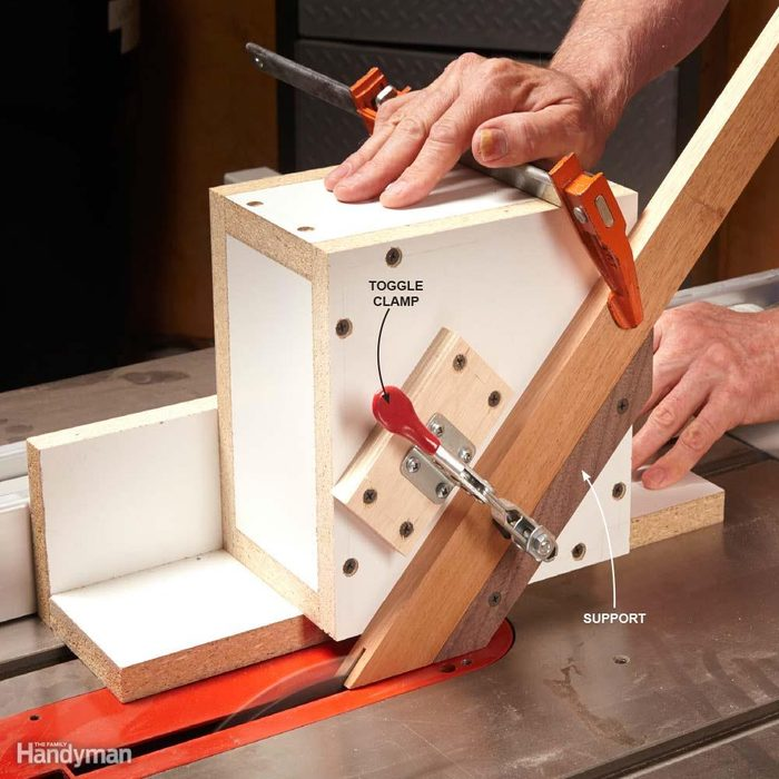 Table Saw Guide Box