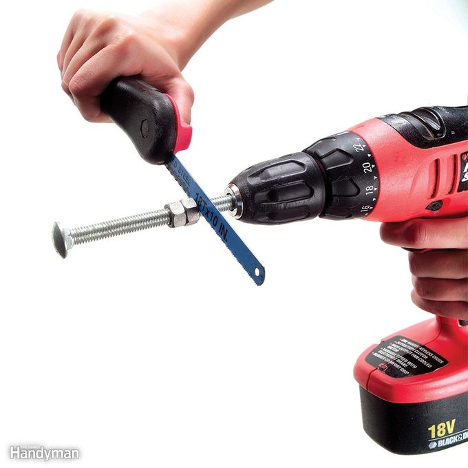 Cut with a Drill