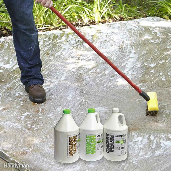 Use Only Cleaning Fluids Designed for Pressure Washers