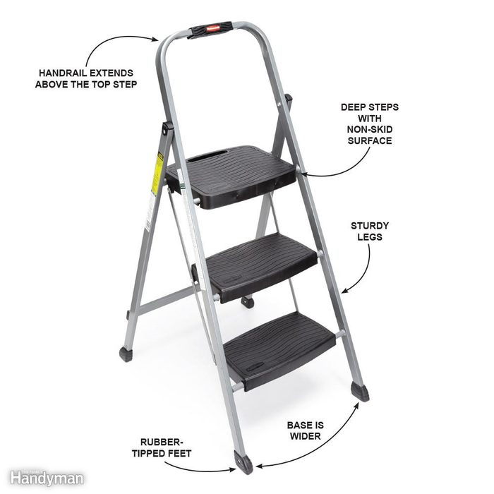 Use Step Stools Safely