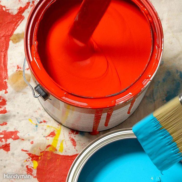 Odor-Absorbing Paint