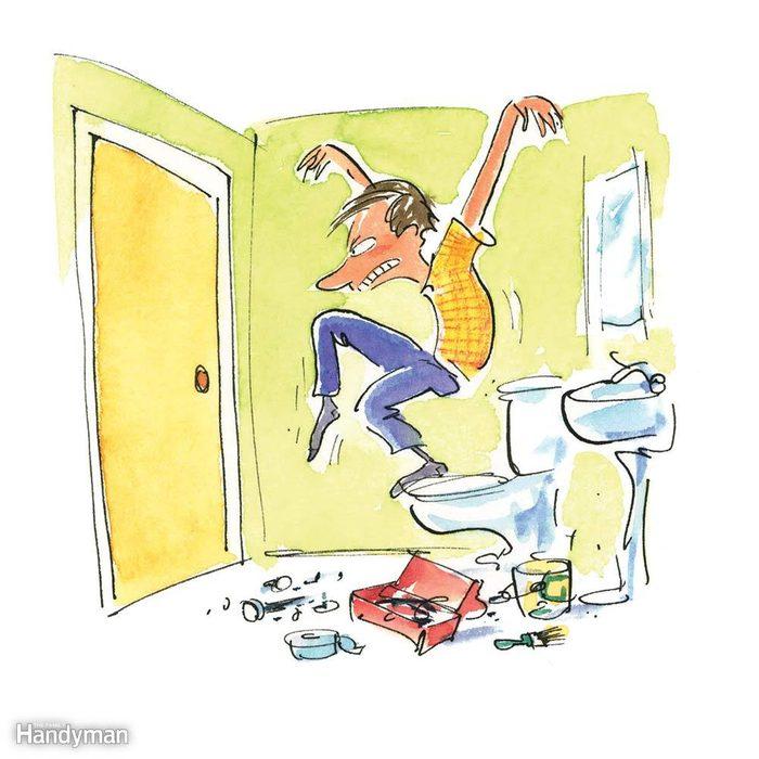 Bathroom Bust-Out
