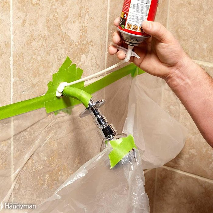 Firm Up a Wobbly Showerhead