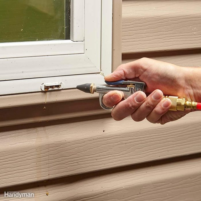 Clean Window Weep Holes or Invite Rainwater Into Your House