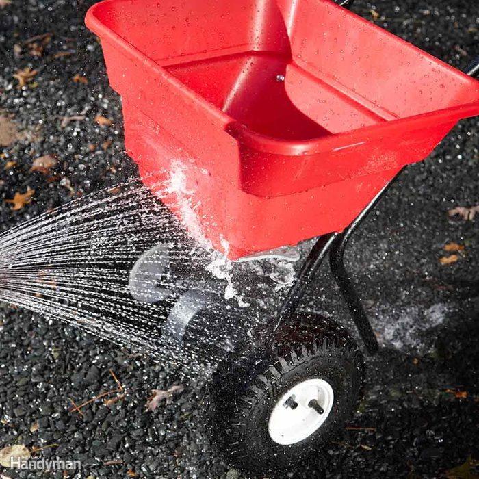 Rinse Your Spreader